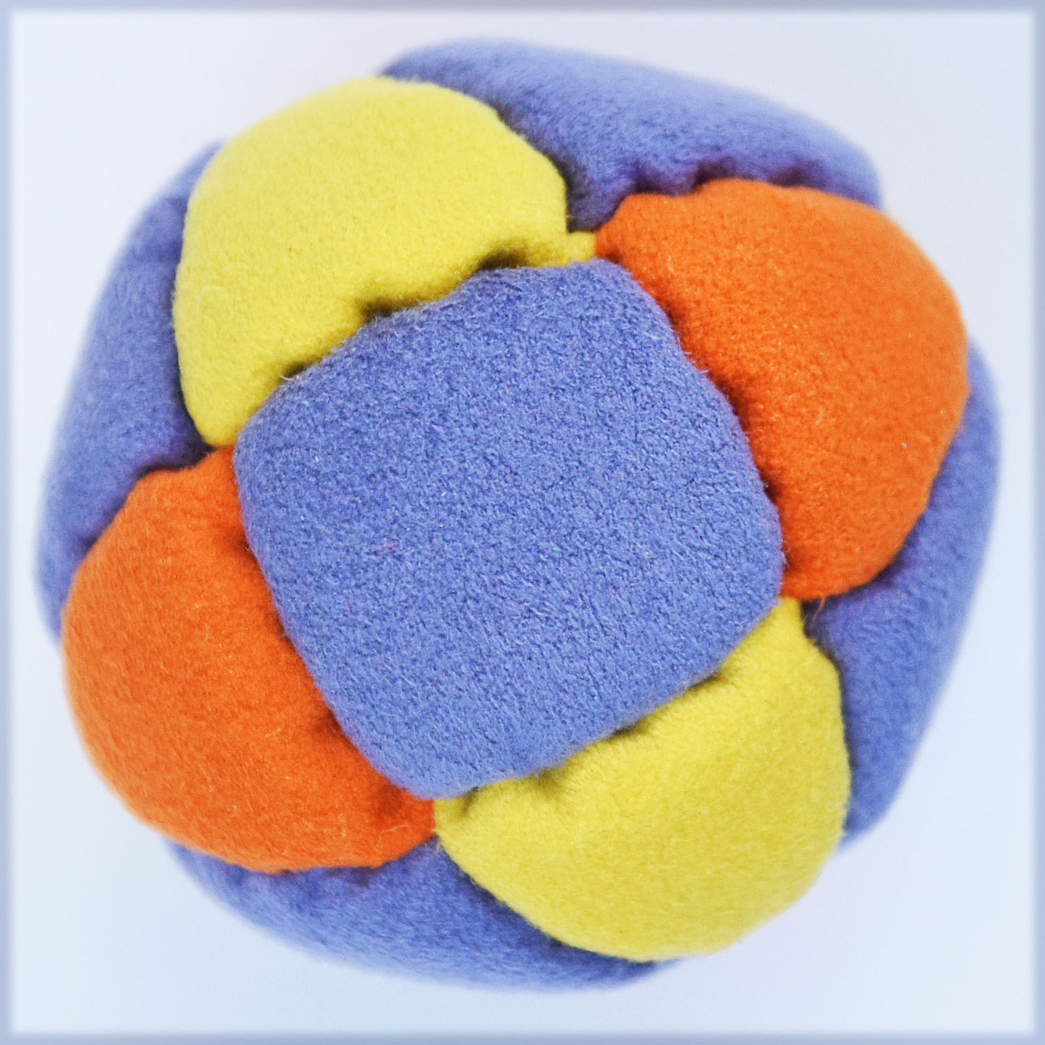 how to make a 4 panel hacky sack